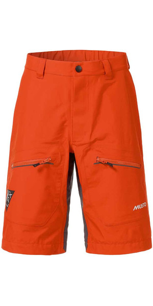 Musto LPX Shorts in Fire Orange SL0032