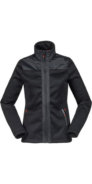 Musto Womens Bruma Funnel Fleece Black / Fire Orange SE3530
