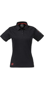Musto Womens Evolution Sunblock Polo Top BLACK SE0483