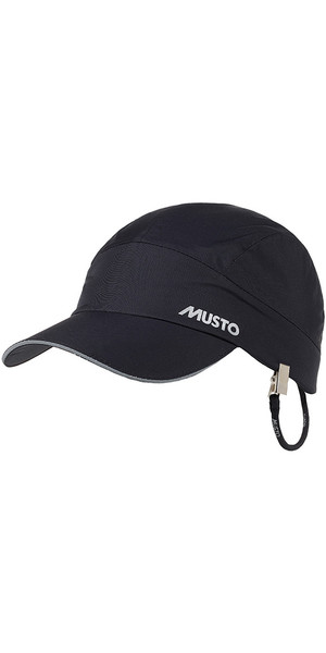 2019 Musto Waterproof Performance Cap BLACK AE0090