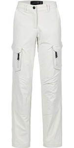 Musto Womens Essential UV Fast Dry Sailing Trousers Platinum LONG LEG (85cm) SE1561