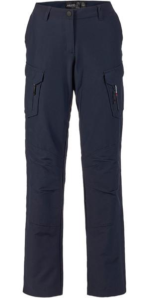 Musto Womens Essential UV Fast Dry Sailing Trousers True Navy LONG LEG (85cm) SE1561