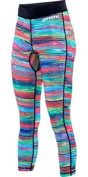 Mystic Ladies Dazzled Lycra Pant in Rainbow 160330