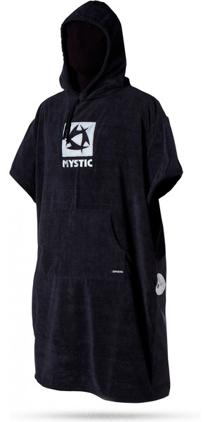 Mystic Changing Robe / Poncho in Black 150135