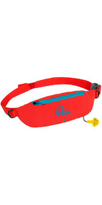 2021 Palm Glide Waist Belt 100N Personal Floatation Device 11731 Red