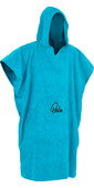 2021 Palm Hooded Changing Robe Poncho BLUE 11847