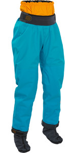2018 Palm Womens Atom Kayak Dry Pant in Aqua 11743