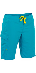 2021 Palm Womens Skyline Board Shorts Aqua 11752