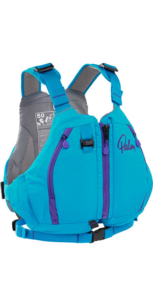 2019 Palm Peyto Womens Touring PFD Aqua 11463