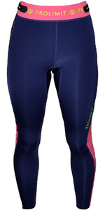 Prolimit Womens SUP 1mm Neoprene Trousers Blue / Pink 64740
