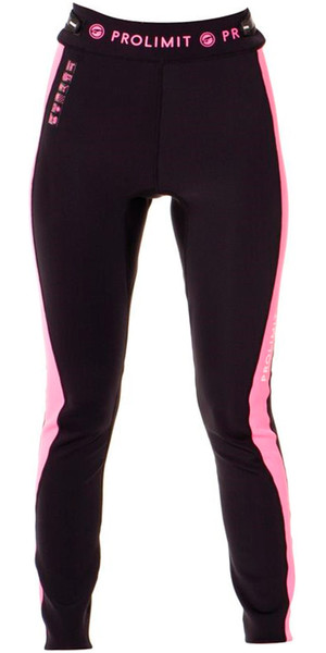 Prolimit Ladies SUP 1mm Airmax Neoprene Trousers Black / Pink 64750