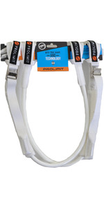 2019 Prolimit WC Harness Lines Vario Buckle - White 26-34 76065