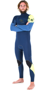 Rip Curl E-Bomb 3/2mm GBS Chest Zip Wetsuit NAVY WSM5AE