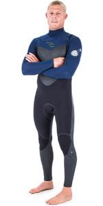 Rip Curl Flashbomb 5/3mm Chest Zip Wetsuit in NAVY WSU6DF