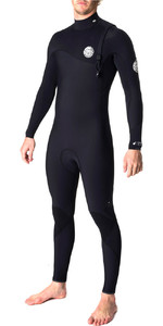 Rip Curl Flashbomb 4/3mm Zip Free Wetsuit BLACK WSM6SF