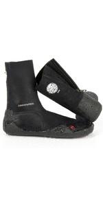 Rip Curl Junior Dawn Patrol 3mm Zipped Round Toe Boots BLACK WBO5AJ