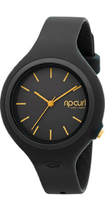 2021 Rip Curl Womens Aurora Surf Watch BLACK / GOLD A2696G