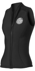 2019 Rip Curl Womens G Bomb 1mm Sleeveless Vest in Black WVE6AW