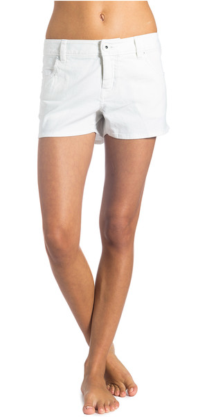 Rip Curl Ladies Neal Walk Shorts in OPTICAL WHITE GWACI4