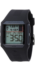 Rip Curl Rifles Mid Tide Surf Watch in BLACK A1124