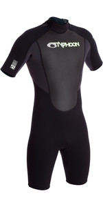 2019 Typhoon Storm 3/2mm Shorty Wetsuit Graphite / Black 250791