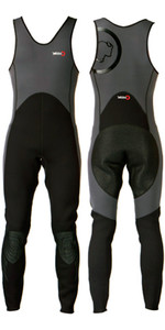 2021 Yak Kayak 'Step In' 3mm Long John Wetsuit Grey / Black  5405-A