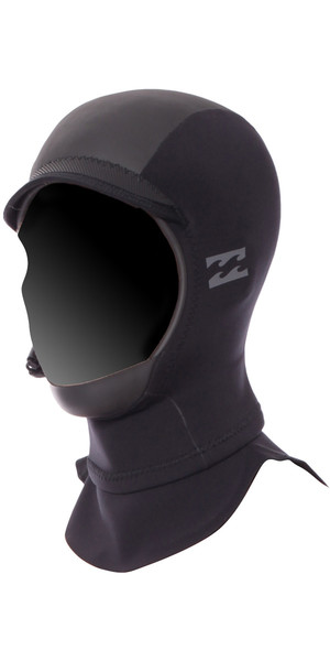 2018 Billabong Furnace X 2mm GBS Hood BLACK F4HN01