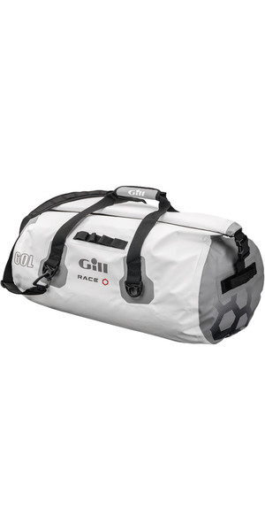 2018 Gill Race Team 60L Waterproof Bag in White RS14