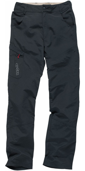 2018 Gill Mens UV Tec Sailing Trousers GRAPHITE UV007