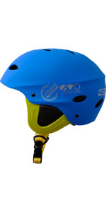 2019 Gul Evo Junior Watersports Helmet BLUE / FLURO YELLOW AC0104-B3