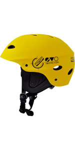 2019 Gul Evo Junior Watersports Helmet Yellow AC0104-B3