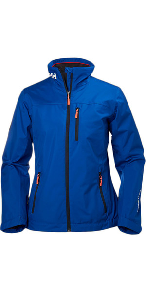 2018 Helly Hansen Ladies Mid Layer Crew Jacket Olympian Blue 30317