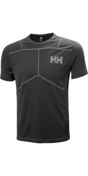 2018 Helly Hansen Lifa Active T Shirt BLACK 48310