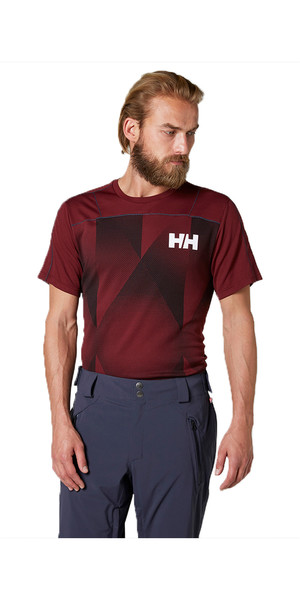 2018 Helly Hansen Lifa Active T Shirt PORT 48310
