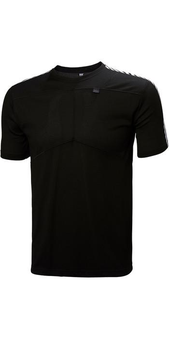 2021 Helly Hansen Lifa T Shirt BLACK 48304