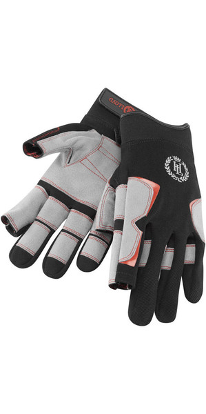 2019 Henri Lloyd Deck Grip Long Finger Glove BLACK Y80055
