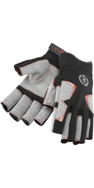 2019 Henri Lloyd Deck Grip Short Finger Glove BLACK Y80056