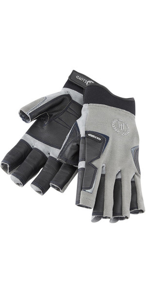 2018 Henri Lloyd Pro Grip Short Finger Glove TITANIUM Y80054