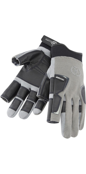 2018 Henri Lloyd Pro Grip Long Finger Glove TITANIUM Y80053