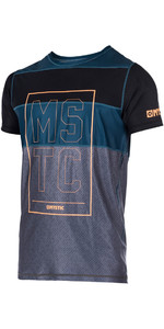 Mystic Drip Short Sleeve Quick Dry Top ORANGE 170346