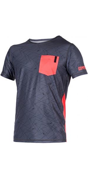Mystic LEN10 Short Sleeve Quick Dry Top RED 170284