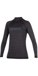 Mystic Star Womens long Sleeve Rash Vest BLACK 170345
