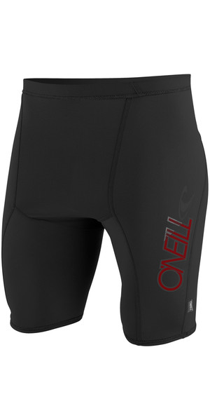 2018 O'Neill Skins Rash Shorts BLACK 3525