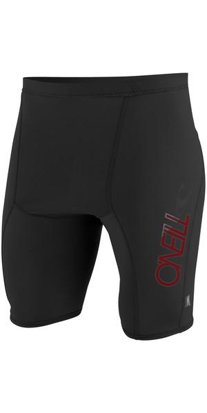 2019 O'Neill Skins Rash Shorts BLACK 3525