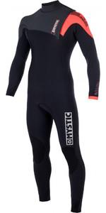 2018 Mystic Majestic 3/2mm Zip Free Wetsuit BLACK 170260