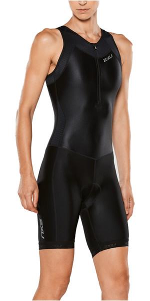 2XU Ladies X-Vent Front Zip Trisuit BLACK WT4365D