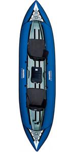 Aquaglide Chinook Tandem 3 Man Kayak BLUE - KAYAK ONLY  - EX DEMO