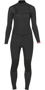 Billabong Ladies Synergy 5/4mm Chest Zip Wetsuit in Black Sands Z45G02