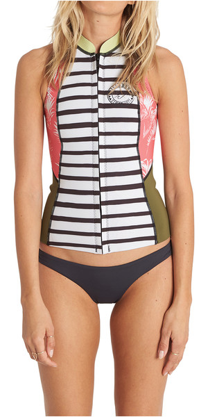 Billabong Salty Dayz 1mm Neoprene Vest MULTI C41G05