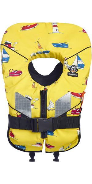 2018 Crewsaver Euro 100N Lifejacket YELLOW - BABY & CHILD 10170